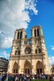 Catedral do Notre Dame de Paris Imagem de Stock Royalty Free