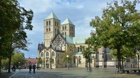 Catedral do nster do ¼ de MÃ Imagens de Stock