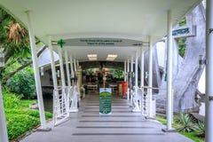 Catedral do parque do cinturão verde o 4 de setembro de 2017 na cidade de Makati, Phili Imagem de Stock