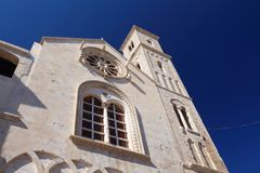 Catedral do românico de Giovinazzo fotos de stock royalty free