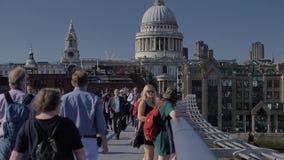 Catedral do ` s de Londres St Paul video estoque