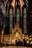 Catedral do ` s de St Mary, Edimburgo, Esc?cia fotografia de stock royalty free