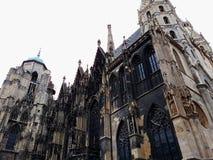 Catedral do ` s de St Stephen, a igreja de mãe de Roman Catholic Archdiocese de Viena foto de stock