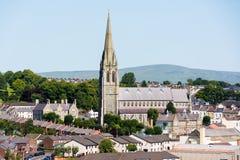 Catedral do ` s do St Eugene, Derry, Irlanda do Norte fotografia de stock royalty free
