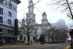 Catedral do sacramento abençoado em Sacramento Imagem de Stock