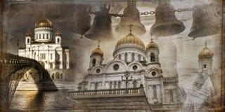 Catedral do salvador de Moscovo Christ fotografia de stock royalty free