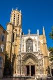 Catedral do salvador santamente em Aix-en-Provence Fotografia de Stock