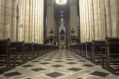 Catedral do SE foto de stock royalty free