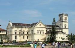 Catedral do SE - uma da igreja a mais grande em Ásia Foto de Stock Royalty Free