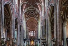 Catedral do St Bavo, Ghent, Bélgica imagem de stock