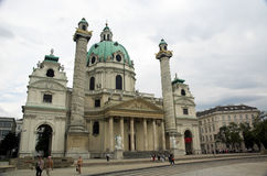 Catedral do St. Charles Fotografia de Stock Royalty Free