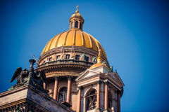 Catedral do St Isaac Foto de Stock Royalty Free