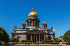 Catedral do St Isaacs, Petersburgo, Rússia Imagem de Stock