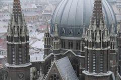 Catedral do St. Maria, Viena, Áustria Fotos de Stock Royalty Free