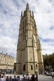 Catedral do St Michel no Bordéus, france imagem de stock royalty free