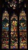 Catedral do St. Patrick do vidro manchado imagens de stock