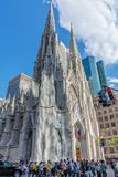 Catedral do St Patricks do cruzamento Fotografia de Stock Royalty Free