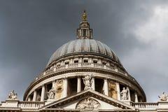 Catedral do St. Paul de Londres Imagem de Stock Royalty Free
