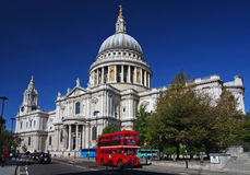 Catedral do St. Paul em Londres Fotografia de Stock Royalty Free