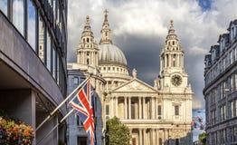 Catedral do St Paul, Londres Imagem de Stock Royalty Free