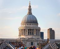 Catedral do St Pauls, Londres, Inglaterra Fotografia de Stock Royalty Free