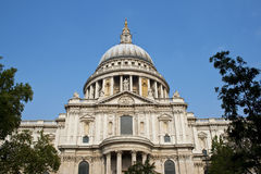 Catedral do St Pauls, Londres, Reino Unido foto de stock royalty free