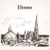 Catedral do St Stephen, Viena Fotografia de Stock