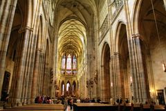 Catedral do St Vitus Fotos de Stock