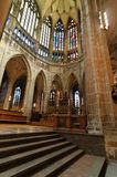 Catedral do St. Vitus em Praga fotografia de stock royalty free