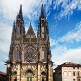 Catedral do St. Vitus, Praga imagem de stock