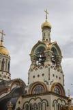 Catedral do St Vladimir s em Sochi, Rússia Imagem de Stock