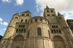 Catedral do Trier foto de stock royalty free