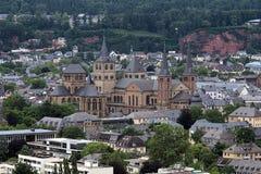 Catedral do Trier e igreja de nossa senhora, Alemanha Imagem de Stock Royalty Free
