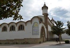 A catedral do vinho de Gandesa Imagens de Stock
