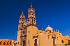 Catedral Dolores Hidalgo Mexico de Parroquia Foto de archivo libre de regalías