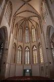 A catedral dos stNicolas (Lala Mustafa Pasha Mosque) na cidade de Famagusta, Chipre do norte fotografia de stock