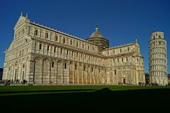 Catedral e Campenille de Pisa Imagens de Stock Royalty Free