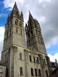 Catedral elevada foto de stock