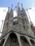 Catedral em Barcelona Foto de Stock