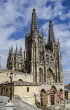 Catedral em Burgos, Spain Foto de Stock Royalty Free