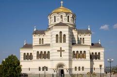 Catedral em Chersonesos Imagem de Stock Royalty Free
