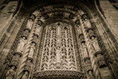 Catedral em França imagens de stock