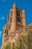 Catedral em França fotografia de stock