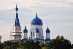Catedral em Gatchina fotos de stock