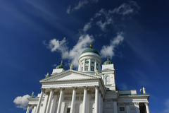 Catedral em Helsínquia Fotos de Stock Royalty Free