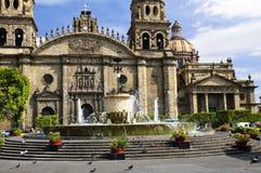 Catedral em Jalisco, México de Guadalajara Imagem de Stock