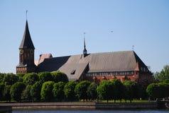 Catedral em Kaliningrad foto de stock