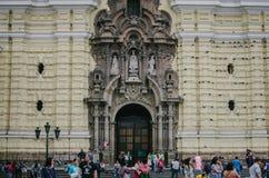 Catedral em Lima Fotografia de Stock