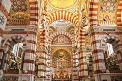 Catedral em Marselha, France Fotografia de Stock