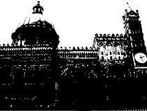Catedral em Palermo Imagem de Stock